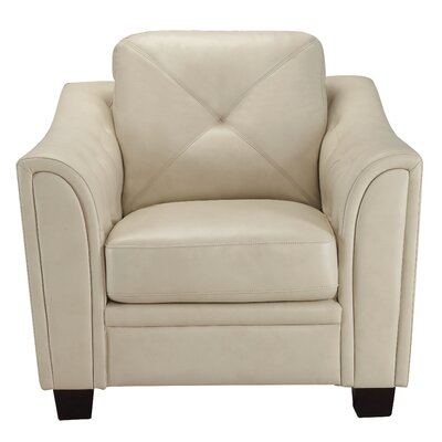 Gliese Arm Chair Upholstery: Cream