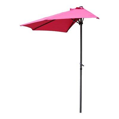 Dade City North 9 Market Umbrella Fabric: Bery Berry