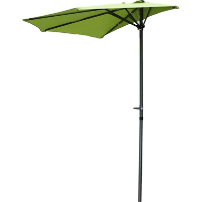 Dade City North 9 Market Umbrella Fabric: Grass Green