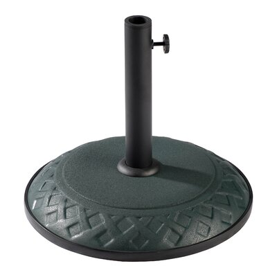 Dade City North Plastic Free-Standing Umbrella Stand Finish: Forest Green