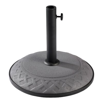 Dade City North Plastic Free-Standing Umbrella Stand Finish: Steel Gray