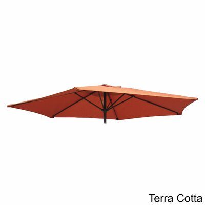 Bordner Replacement Covers and Poles Fabric: Terra Cotta
