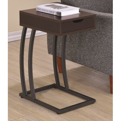 Keira End Table Finish: Cappuccino