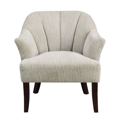Dawson Armchair Upholstery: Ivory