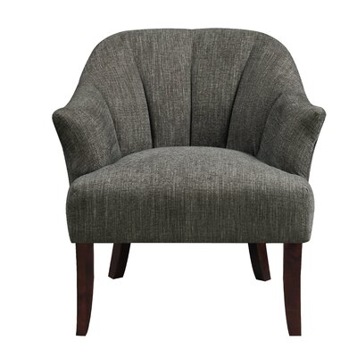 Dawson Armchair Upholstery: Black