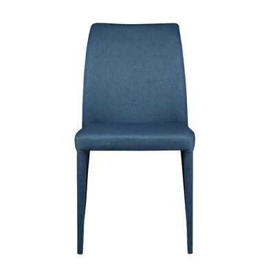 Andreasen Side Chair (Set of 2) Upholstery: Blue