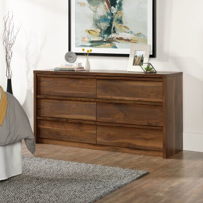 Posner 6 Drawer Dresser