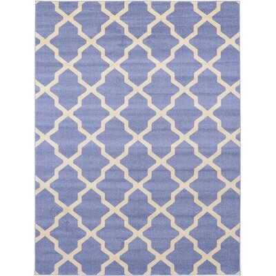 Moore Blue Area Rug Rug Size: Rectangle 7 x 10