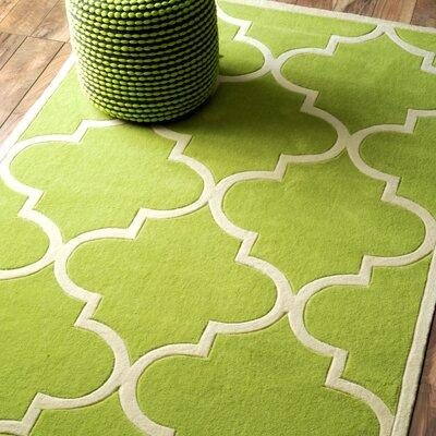 Sabatini Green Area Rug Rug Size: 5 x 8