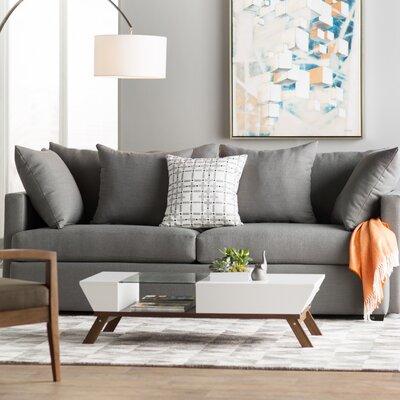 Mckenzie Sofa Upholstery: Charcoal