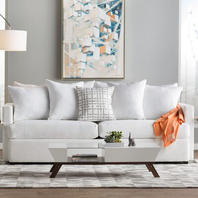 Mckenzie Sofa Upholstery: Ice