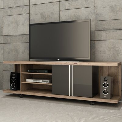 Bodden 71 TV Stand Color: Nature/Onyx