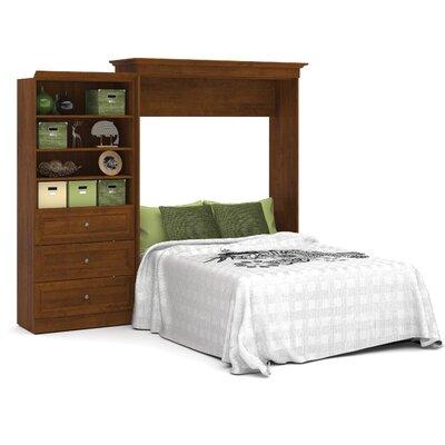 Acevedo Queen Murphy Bed Color: Tuscany Brown