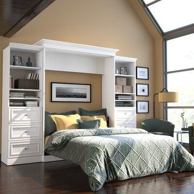 Amaker Queen Murphy Bed Finish: White