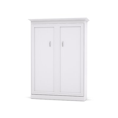 Acevedo Storage Murphy Bed Size: Full, Color: White