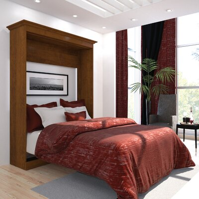 Acevedo Storage Murphy Bed Size: Full, Finish: Tuscany Brown