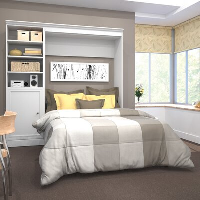 Acevedo Full/Double Murphy Bed Color: White