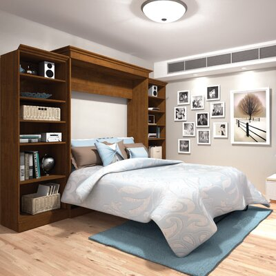 Acevedo Queen Murphy Bed Color: Tuscany Brown
