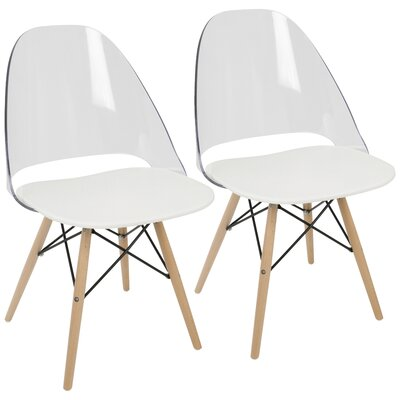 Beyer Side Chair Finish: White