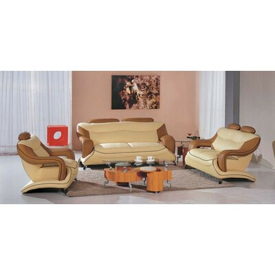 Bidwell 3 Piece Living Room Set