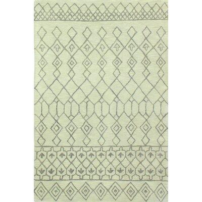 Bielecki Hand-Tufted Area Rug Rug Size: 36 x 56