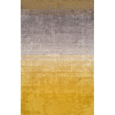 Bier Sion Yellow Area Rug Rug Size: 6 x 9