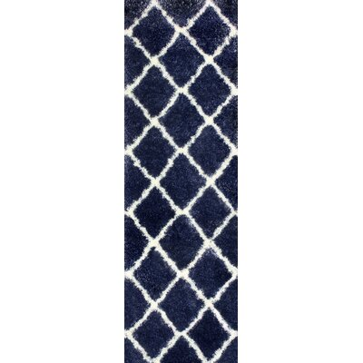 Bronson Denim Area Rug Rug Size: Runner 28 x 8