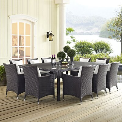 Khadar 11 Piece Dining Set