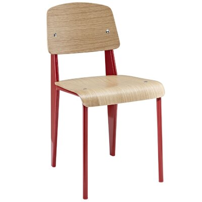 Binns Side Chair Finish: Red