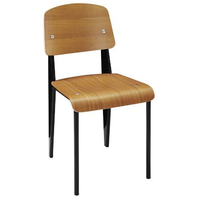 Binns Side Chair Finish: Walnut