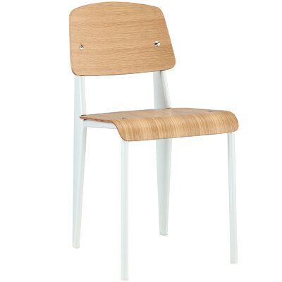 Binns Side Chair Finish: White