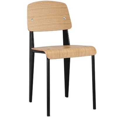 Binns Side Chair Finish: Natural Black