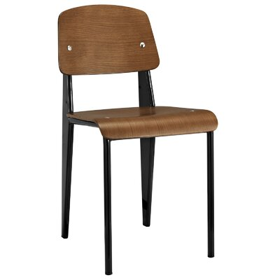 Binns Side Chair Finish: Walnut Black