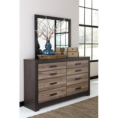 Arjun 6 Drawer Dresser with Mirror