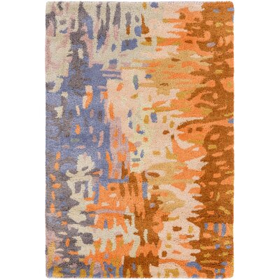 Demosthenes Tan Area Rug Rug Size: Rectangle 5 x 8