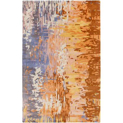 Demosthenes Tan Area Rug Rug Size: Rectangle 33 x 53