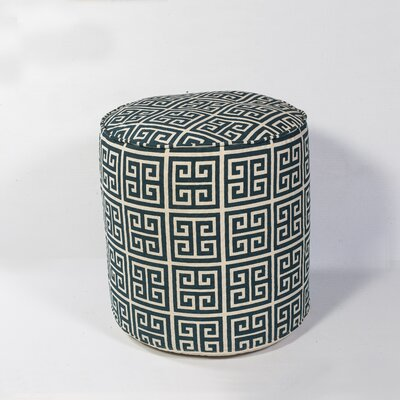 Ismene Greek Key Pouf