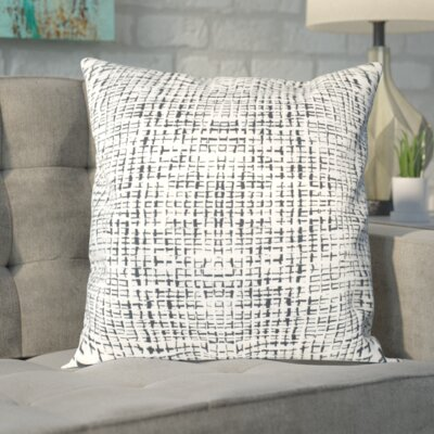Zurcher Abstract Grid Large Pillow Size: 20 H x 20 W