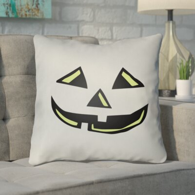 Letitia Indoor/Outdoor Throw Pillow Color: Mint, Size: 18 H x 18 W x 4 D