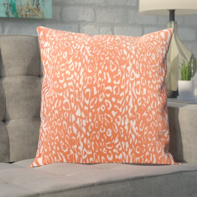 Eustachys Indoor/Outdoor Throw Pillow Color: Orange
