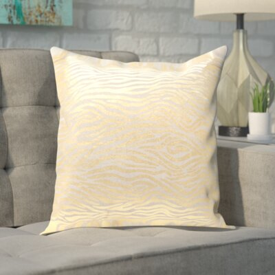 Demi Linen Throw Pillow Size: 18