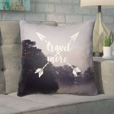 Pavie Indoor/Outdoor Throw Pillow Size: 18 H x 18 W x 4 D