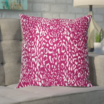 Eustachys Outdoor Throw Pillow Color: Lilac