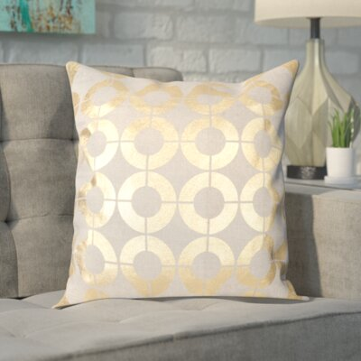 Bailey Linen Throw Pillow Size: 22 H x 22 W x 2 D