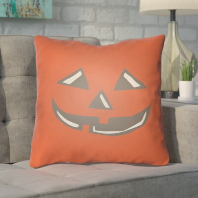 Tauri Indoor/Outdoor Throw Pillow Size: 18 H x 18 W x 4 D, Color: Red