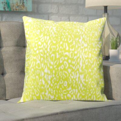 Eustachys Outdoor Throw Pillow Color: Green