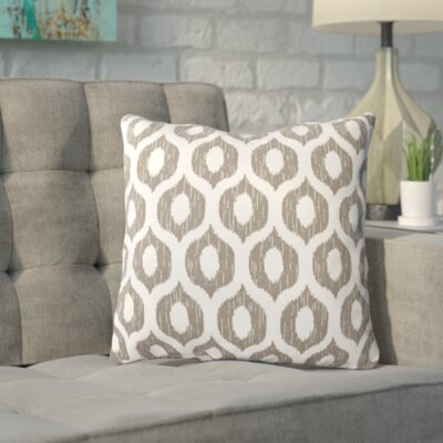 Apollinaris Throw Pillow Color: Vroome Fog