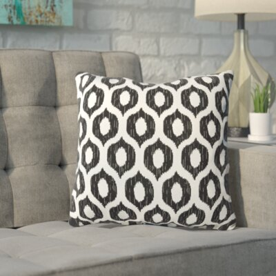 Apollinaris Throw Pillow Color: Vroome Licorice