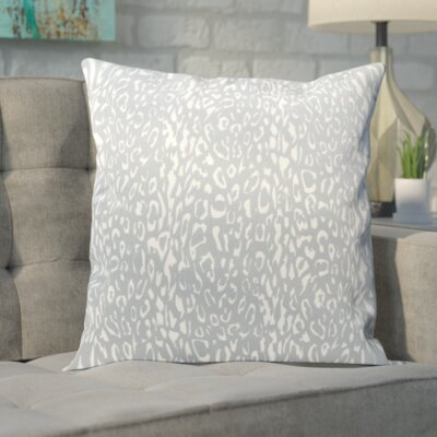 Eustachys Outdoor Throw Pillow Color: Grey
