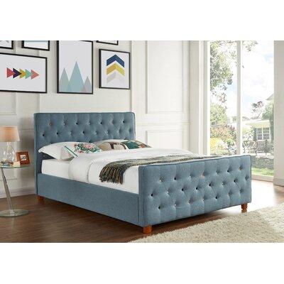 Auld Upholstered Platform Bed Size: Queen